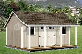 16x20 Shed Plans With Porch by 12 U0027 X 16 U0027 Shed With Porch Pool House Plans P81216 Free