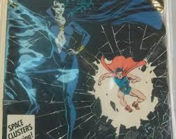 1986 Secret Origins 8 Shadow Lass And Doll Man VF NM Vintage DC Comic Book