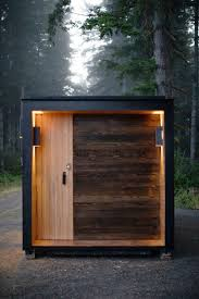 100 Shipping Container Studio True Is A 162 Sq Ft Modern Shipping Container Home TreeHugger