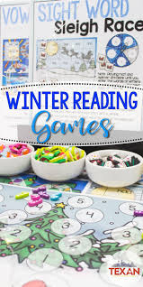 Create A Literacy Center Wonderland With Winter Reading Activities These Frosty Games Are Perfect For Centers In Kindergarten And Some