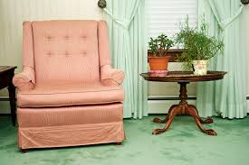 Download Armchair In Living Room Stock Image