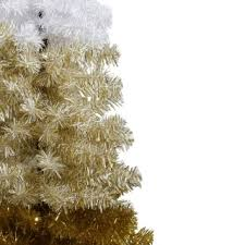 4ft Christmas Tree Sale by Gold Ombre 4ft Artificial Christmas Tree
