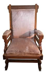 Early 20th Century Antique Pink Velvet Rocking Chair Champlain Patio Rocking Chair Acacia Wood Cushioned Traditional Midcentury Modern Teak Finish With Yellow Cushions An American Adirondack Rocking Chair Early 20th Century Sold A Sam Maloof Double Fetched 35000 Century Antique Better Homes Gardens Ridgely Slat Back Mahogany Retro Voorhees Craftsman Mission Oak Fniture Gustav North Wind Carved Signed 1900s Rocker Foa Skull For My Husband As An Early Fathers Late 19th Leather Personalised Wooden Teyboutiquecom
