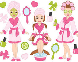 Spa Clipart 80OFF Graphics Girls Party