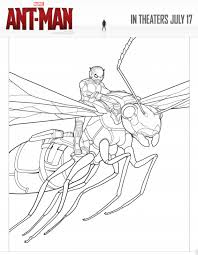 Marvels ANT MAN Coloring Pages