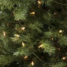 Artificial Christmas Tree 6ft by 6ft Pre Lit Spruce Hinged Artificial Christmas Tree W Ul