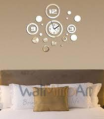 Brilliant Decoration Decorative Wall Clocks For Living Room Fashionable Beautiful Big