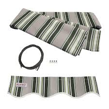 Amazon.com: ALEKO Awning Fabric Replacement 16X10 Feet For ... Dometic 9100 Power Awning Rv Patio Awnings Camping World Fabric Removal U Installation Replacing Installing How To Install Rv Stand Off Bracket Kit White B3108049 8500 Series Replacement Custom Acrylic For With Canopy This Seller Accepts Paypal Buy It Now A E My Stoopid Stuff Retractable Carports Carport Ideas Variations And Selections Of Bonnieberkcom