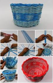 How To Make Simple Newspaper Basket