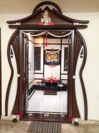 South Indian Pooja Room Home Decor Puja Blessed Door