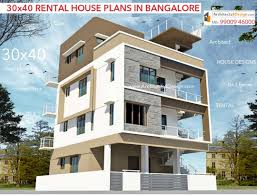 100 House Design By Architect 30x40 HOUSE PLANS In Bangalore For G1 G2 G3 G4 Floors 30x40