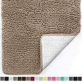 gorilla grip original luxus chenille badezimmer teppich