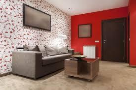 rote wohnzimmer tapete möbel wohnzimmer rot zimmer