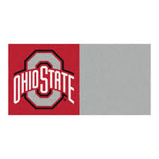 FANMATS NCAA - Ohio State University Gray And Red Nylon 18 In. X 18 In.  Carpet Tile (20 Tiles/Case) Hardwood Rocking Chair Ohio State Jumbo Slat Black Ncaa University Game Room Combo 3 Piece Pub Table Set The Best Made In Amish Chairs For Rawlings Buckeyes 3piece Tailgate Kit Products Smarter Faster Revolution Axios Shower Curtain 1 Each Michigan Spartans Trademark Global Logo 30 Padded Bar Stool