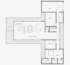 100 Modern Beach House Floor Plans CH164 Plan