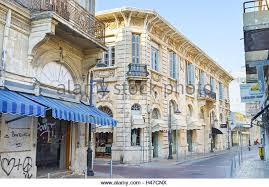 The British Colonial Architecture Prevalent In Old Town Of Limassol Cyprus