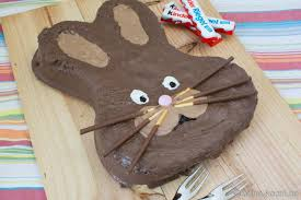 osterhasen kuchen kinderschokolade kuchen pdf kostenfreier