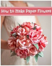 How To Make Paper Flowers 40 Diy Wedding Ideas Beautiful Out Of