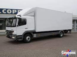 MERCEDES-BENZ 1326 Closed Box Trucks For Sale From The Netherlands ...