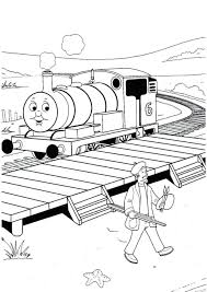 Coloring Pages Thomas And Friends Free Printable Train Print The Tank Engine