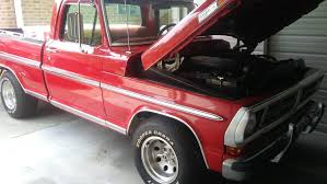 100 1972 Ford Truck Parts Best F100 2wd 3 Owners For Sale In Ringgold