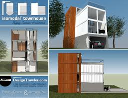 Design Trawler: Design Trawler's Container Townhouse For The BBC Container Home Contaercabins Visit Us For More Eco Home Classy 25 Homes Built From Shipping Containers Inspiration Design Cabin House Software Mac Youtube Awesome Designer Room Ideas Interior Amazing Prefab In Canada On Vibrant Abc Snghai Metal Cporation The Nest Is A Solarpowered Prefab Made From Recycled Architect