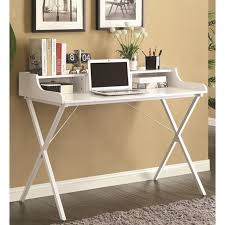 Coaster Contemporary Computer Desk by White Glass Desk Steal A Sofa Furniture Outlet Los Angeles Ca