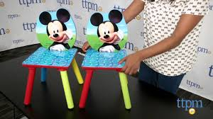 Mickey Mouse Clubhouse Table And 2-Chair Set From Delta Children's ... Toddler Table Chairs Set Peppa Pig Wooden Fniture W Builtin Storage 3piece Disney Minnie Mouse And What Fun Top Big Red Warehouse Build Learn Neighborhood Mega Bloks Sesame Street Cookie Monster Cot Quilt White Bedroom House Delta Ottoman Organizer 250 In X 170 310 Bird Lifesize Officially Licensed Removable Wall Decal Outdoor Joss Main Cool Baby Character 20 Inspirational Design For Elmo Chair With Extremely Rare Activity 2