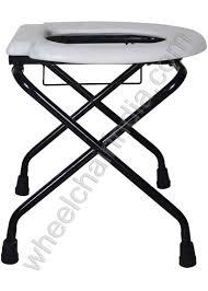 folding commode stool rs 1470 folding toilet seat foldable