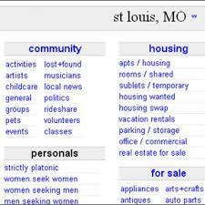 St Louis Craigslist. St Louis Man Found Guilty In Craigslist Murder ...