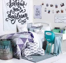 Purple Teal And White Dorm Room Decor Decorating Ideas