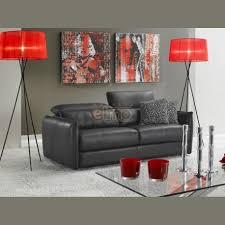 canapé fabriqué en canapé lit rapido contemporain cuir fabriqué en italie