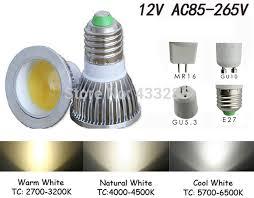 ultra bright mr16 gu10 e27 led cob spot light bulb 6w 9w 12w