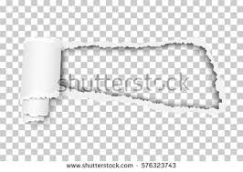 Torn Snatched Window In Sheet Of Checkered Transparent Paper Background Template Design