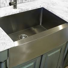 stainless steel 30 inch farmhouse apron sink overstock shopping
