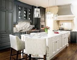Greige Interior Design Ideas And Inspiration For The Transitional Home Grey In Kitchen I Like That They Used Two Colors Gray On Cabinets