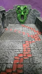Making 3d Dungeon Tiles by Down Under Dm The Tomb Of Horrors Complete 3d Build