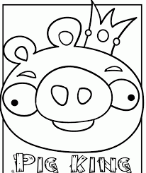 Ue Angry Bird Colouring Pages