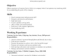 Resume Skills Sample Examples Of Special For Skill Ideas Example