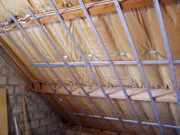 pose rail placo plafond pose de placo en sous pente de design unique