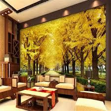 chambre arbre beibehang photo papier peint 3d salon chambre d or arbre 3d tv