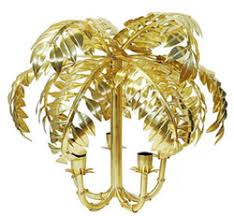 casa padrino designer hängeleuchte palme antik messing 63 x 63 x h 57 cm edelstahl pendelleuchte wohnzimmer le