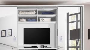 kleiderschrank zanema weiß spiegel inkl tv fach 270 cm