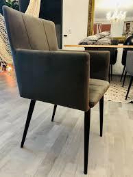 4 6 stühle samt stoff black friday angebot