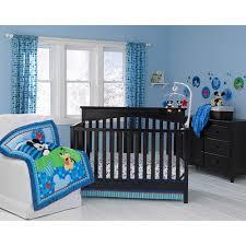 disney baby mickey mouse best friends 3 piece crib bedding set