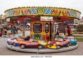 Halloween Theme Park Uk by Halloween Roundabout Carousel Merry Go Round Stock Photos