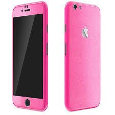 iPhone 6 Glitz Series Glitter Pink Wrap