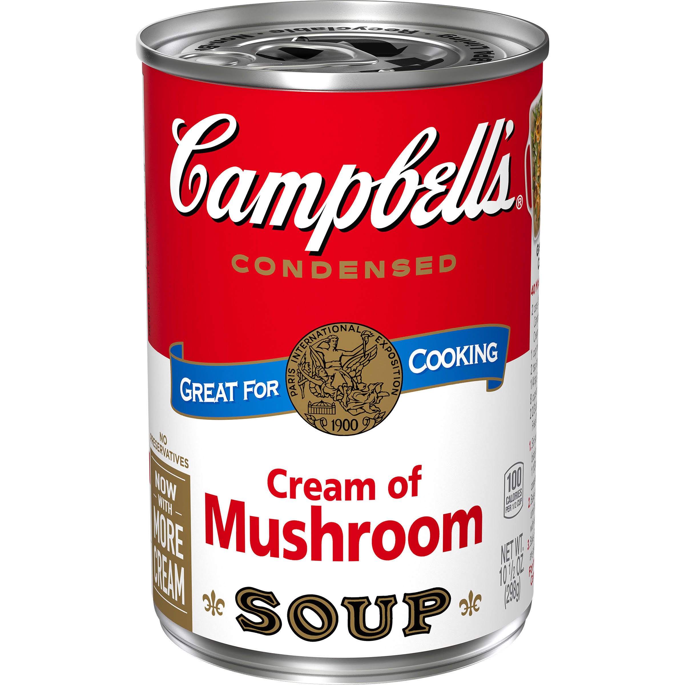 Campbell's Cream of Mushroom Condensed Soup - 10.75oz