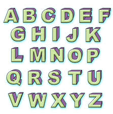 3 Easy Ways To Draw 3D Block Letters With Pictures