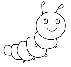 Clip Art Caterpillar Coloring Page Pages Panda Free Images Monarch